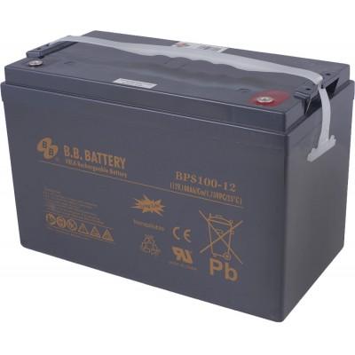 BPS 100-12 B.B.Battery  (12В; 100А*ч) AGM Аккумуляторы