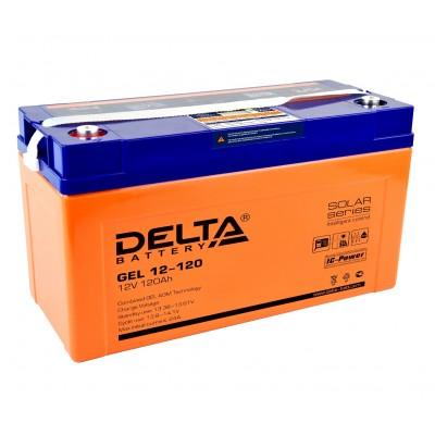 Delta GEL 12-120 (12В; 120А*ч)