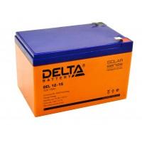 Delta GEL12-15  Аккумулятор гелевый (12В; 15А*ч)