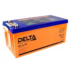Delta GEL12-200  Аккумулятор гелевый (12В; 200А*ч)