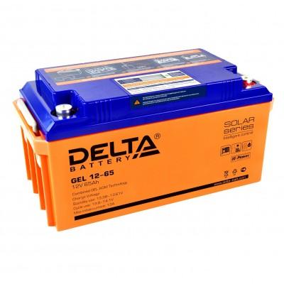 Delta GEL 12-65 (12В; 65А*ч)