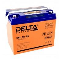 Delta GEL12-85  Аккумулятор гелевый (12В; 85А*ч)