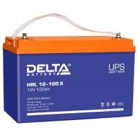 HRL 12-100 X (Delta) Аккумулятор 12В; 100 Ач, AGM