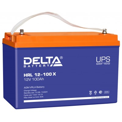 HRL 12-100X AGM аккумулятор для ИБП (UPS)