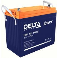 HRL 12-140 X (Delta) Аккумулятор 12В; 140 Ач, AGM