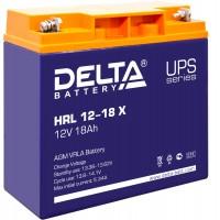 HRL 12-18 X (Delta) Аккумулятор 12В; 18 Ач, AGM