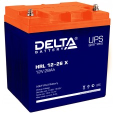 HRL 12-26 X (Delta) Аккумулятор 12В; 26 Ач, AGM