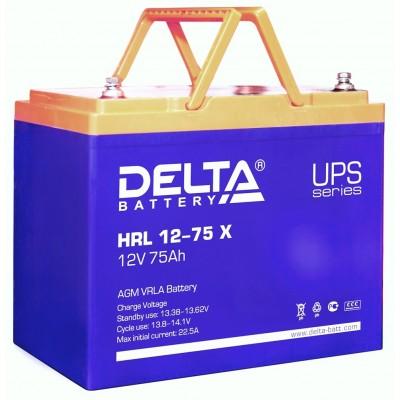 HRL 12-75 X AGM аккумулятор для ИБП (UPS)
