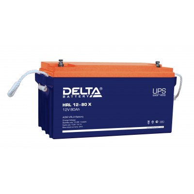 HRL 12-80 X, AGM аккумулятор для ИБП (UPS)