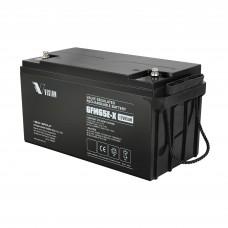 VISION  6FM65EX  (12В; 65 А*ч) Аккумулятор AGM