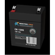 СК-1205 (Восток) Аккумулятор 12В; 5Ач; AGM