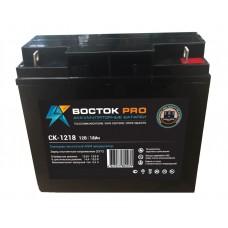 СК-1218 (Восток) Аккумулятор 12В; 18Ач; AGM