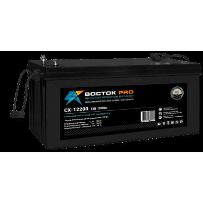 CX-12200 Pro (Восток) Гелевый аккумулятор глубокого разряда (12В; 200А*ч)