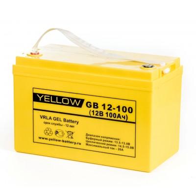GB12-100 Гелевый аккумулятор 12В, 100А*ч