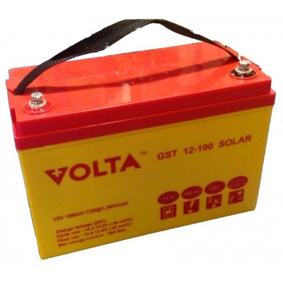 GST 12-100 (Volta) Гелевый аккумулятор глубокого разряда (12В; 100А*ч)