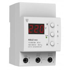 Реле напряжения  с  термозащитой (ZUBR) RBUZ D63t