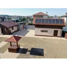 Комбинированная солнечная электростанция 3кВт, 8 кВт*ч, 20кВт*ч