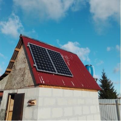 Ситема автономного электроснабжения на даче. Московская область.