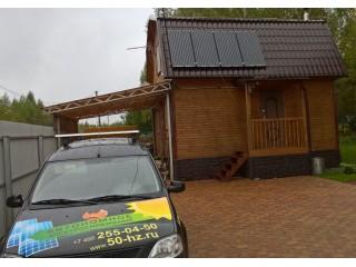 Солнечная электростанция для дачи