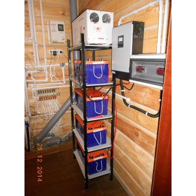 Бесперебойное электроснабжение и стабилизатор в загородном доме