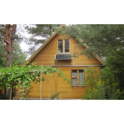 Свет для дачи в Московской области на лесной опушке