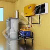 ИБП offline CyberPower с АКБ Мощность до 200Вт Энергоёмкость до 1,2 кВт*ч Резерв котла до 8 часов