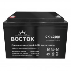 СК-12100 (Восток) Аккумулятор 12В; 100Ач; AGM