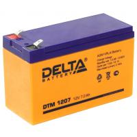 DTM 1207 (Delta АКБ) Аккумулятор AGM (12В; 7 Ач)