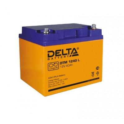 DTM 1240L (Delta) Аккумулятор AGM (12В; 40 Ач)