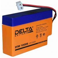 DTM 12008 (Delta АКБ) Аккумулятор AGM, 12В, 0.8 Ач