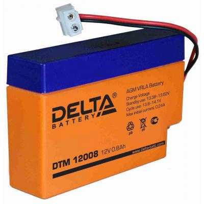 Delta DTM 0.8-26А*ч, 6 лет Маломощные