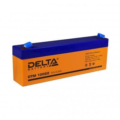 DTM 12022, AGM аккумулятор от Delta Battery