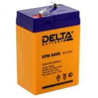 DTM 6045 (Delta АКБ) Аккумулятор AGM (6В, 4.5Ач)
