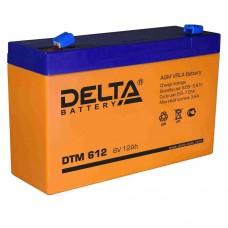 DTM 612 (Delta АКБ) Аккумулятор AGM (6В, 12 Ач)