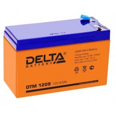 DTM 1209 (Delta АКБ) Аккумулятор AGM (12В; 9А*ч)