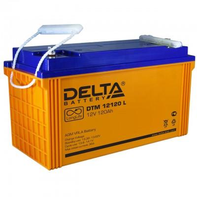 DTM 12120L (Delta) Аккумулятор 12В; 120 Ач, AGM