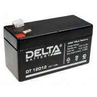 DT 12012 (Delta) Аккумулятор 12В; 1.2 Ач, AGM