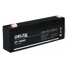 DT 12022 (Delta) Аккумулятор 12В; 2.2 Ач, AGM