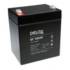 DT 12045 (Delta) Аккумулятор 12В; 4.5 Ач, AGM