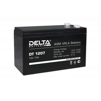 Delta DT 1207, AGM аккумулятор