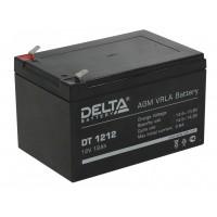 DT 1212 (Delta) Аккумулятор 12В; 12 Ач, AGM