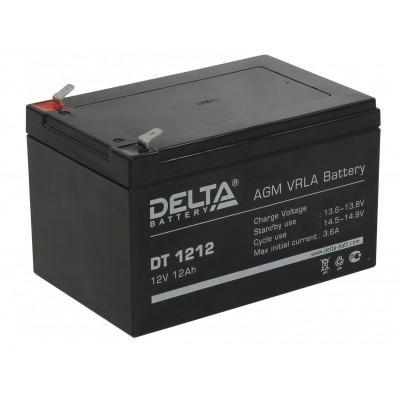 Delta DT 1212, AGM аккумулятор