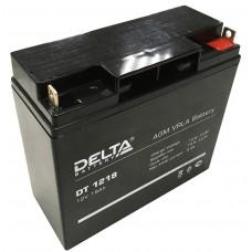 DT 1218 (Delta) Аккумулятор 12В; 18 Ач, AGM