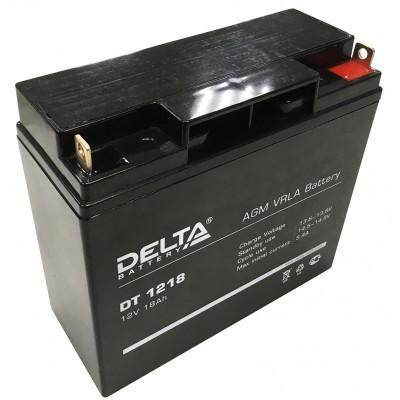Delta DT 1218, AGM аккумулятор