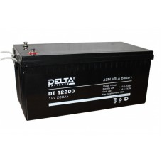 DT 12200 (Delta) Аккумулятор 12В; 200 Ач, AGM