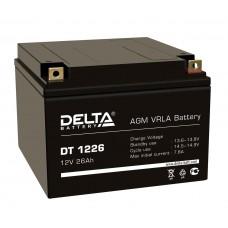 DT 1226 (Delta) Аккумулятор 12В; 26 Ач, AGM