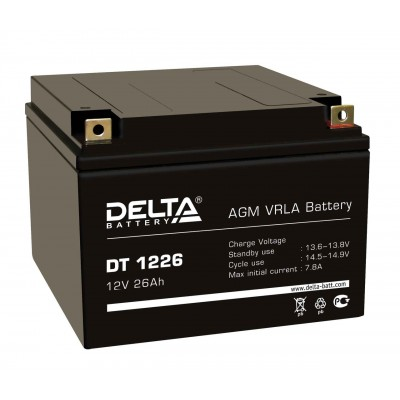 Delta DT 1226, AGM аккумулятор