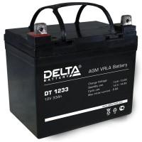DT 1233 (Delta) Аккумулятор 12В; 33 Ач, AGM