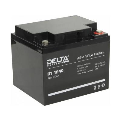 Delta DT 1240, AGM аккумулятор