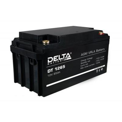 Delta DT 1265, AGM аккумулятор